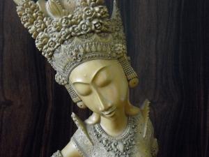 Balinese Dancer Close-up