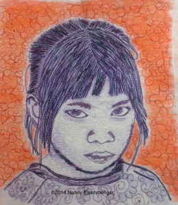 Quilted Girl 2