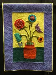 Flower Vase (Sue Spargo pattern)