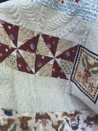 Pieced Backing Detail